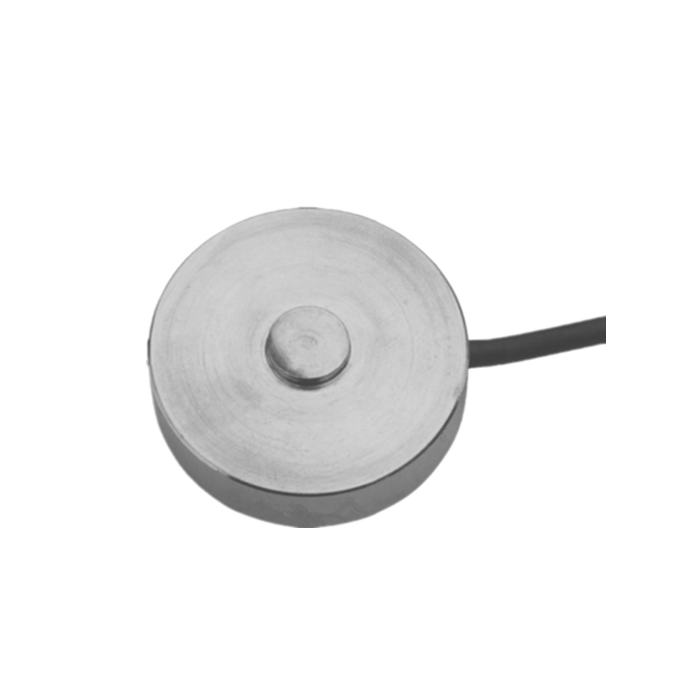 Low profile compression/load button load cell GKE