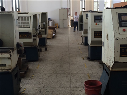 Geantec load cell machining workshop